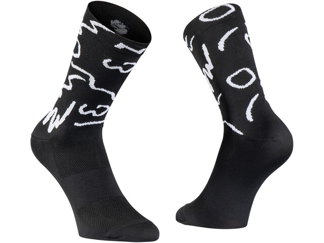 Northwave Vibe Chaussettes Homme, black/white